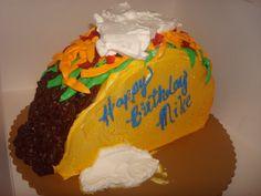 Mike's Taco Cake