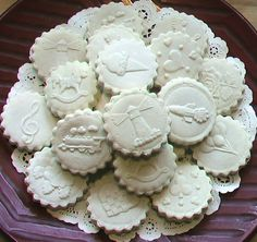 Rycraft Terra Cotta Cookie Stamps - Cookie Recipes & Baking Tips