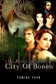 City of bones. Doin the happy dance!..doin the happy dance!