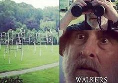 I know you haven't seen the walking dead...which is a shame...we'll change that...but this is hilarious
