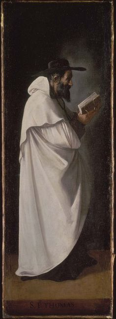 Saint Peter Thomas // after 1634 //  Francisco de Zurbarán //  About 1632, an altarpiece in the Church of the College of San Alberto, Seville (original commission)