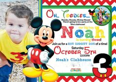 Mickey Mouse Clubhouse Birthday Party Ideas | Photo 1 of 29 | Catch My Party
