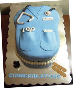 Inspirational Quotes For Medical Students | Medical Student Graduation Cake Cakes - kootation.com