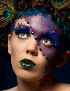Very cool makeup :-)