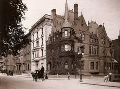 Gould Mansion, 1886.  Fifth Ave and 67th St., NYC
