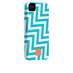Zig Zag  by iomoi  for iPhone 4 / 4S Barely There Case from Case-Mate.com