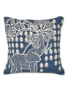 Linen Handmade Pillow by Jaipur Pillows at Gilt $55