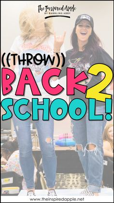 Head back to school with these throw back 90's inspired classroom games and activities!  From community building to call & responses and everything in between, these activities will have you ready to start with year with fun & excitement, mixed in with LOTS of nostalgia!