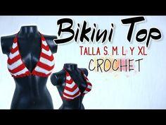 Crochet Shorts, Crochet Clothes, Crochet Bikini, Crochet Stitches, Crochet Patterns, Easy Youtube, Cropped Top, Short Tops, Summer Shorts