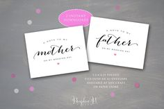 Instant Download Set of 2 Printable Notes from by PumpkinPiDesign