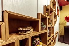 Showroom, Bookcase, Shelves, Modern, Home Decor, Shelving, Trendy Tree, Decoration Home, Room Decor