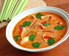 tom kha gai recipe authentic thai soup coconut chicken spicy