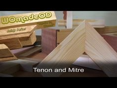 Hand Cut Joints: Tenon and Mitre