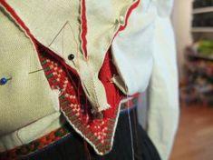 Kjoleliv Folklore, Norway, Vest, Costumes, Embroidery, Dresses, Vestidos, Needlepoint, Dress Up Clothes