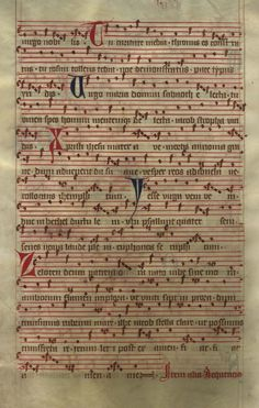 Moosburger Graduale um 1360 Moosburg Cim. 100 (= 2° Cod. ms. 156)  Folio 442