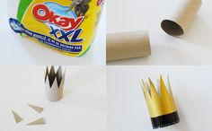 Une couronne de roi facile à réaliser #DIY #essuietout