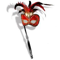 Red Venetian Mask #NOLA #mardigras #carnival