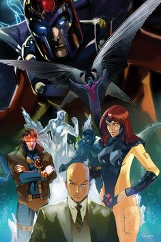 x-men first class by Peter Nguyen