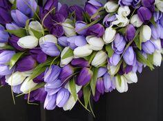 Spring Wreaths Lavender Wreath Mother's Day Gift by ElegantWreath
