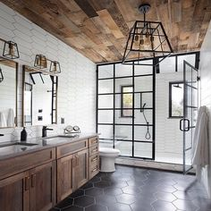 Home renovations take up a fair bit of energy and resources. They can be really taxing if you are not properly prepared and do not plan ahead.And today we take a look at the trendiest of these bathroom renovations that also usher in an air of opulence Bad Inspiration, Bathroom Inspiration, Dream Bathrooms, Beautiful Bathrooms, Luxurious Bathrooms, Master Bathrooms, Master Bathroom Designs, Small Master Bathroom Ideas, Master Bath Layout