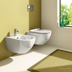 Catalano Sfera 54 New Flush Wandcloset diepspoel zonder spoelrand mat wit Interior S, Interior Design, Glazing Techniques, Towel Rail, Cozy House, Home Collections, Modern Bathroom, Building A House, Toilet