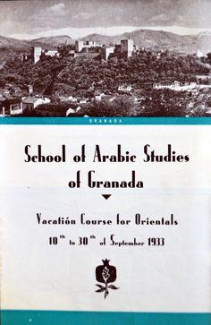 Folleto del Curso de Vacaciones para Orientales del año 1933 [AEA]