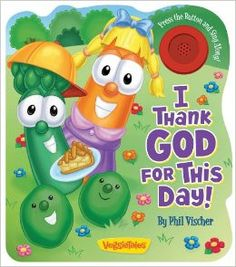 A new musical book from the #1 children's faith-based brand! The Veggies know that it is fun to thank God for the good things He gives us! As Junior Asparagus, Laura Carrot, Annie, and others enjoy a