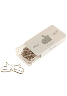 Bunny Paperclips- would be cute for spring album
