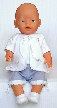 free doll sewing patterns are suitable for Zapf BABY Born®* dolls: Sewing Doll Clothes, Sewing Dolls, Girl Doll Clothes, Girl Dolls, Baby Dolls, Doll Sewing Patterns, Doll Clothes Patterns, Baby Patterns, Clothing Patterns
