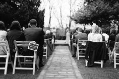 Laura and Chris Outdoor Wedding Ceremony. By Greyeye Photography
