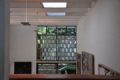 Concrete brise soleil detail.  Josep Lluís Sert, Fondation Maeght, 1964; photo by neil mp, via Flickr