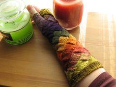Egle: guanti proposition entrelac gloves