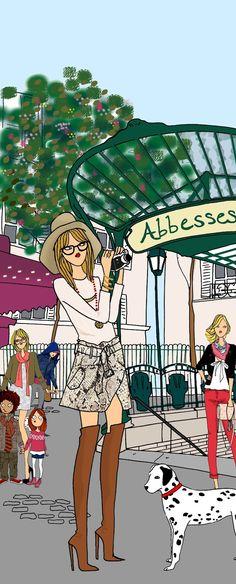 (••)                                                              Angeline Melin, Do it in Paris