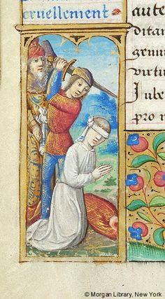 Book of Hours, MS H.5 fol. 39v - Images from Medieval and Renaissance Manuscripts - The Morgan Library & Museum