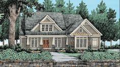 Home Plan HOMEPW10803 - 2619 Square Foot, 4 Bedroom 3 Bathroom Craftsman Home with 2 Garage Bays | Homeplans.com