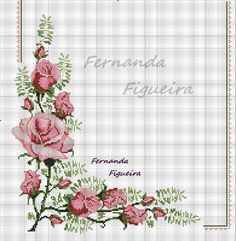 Rose Motif for Pillow 1 Cross Stitch Pattern Cross Stitch Borders, Cross Stitch Rose, Cross Stitch Flowers, Modern Cross Stitch, Cross Stitch Designs, Cross Stitching, Cross Stitch Embroidery, Embroidery Patterns, Hand Embroidery