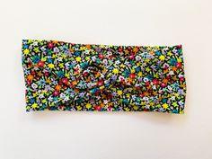 Tie Headband, Turban Headbands, Fabric Headbands, Headbands For Women, Top Knot, Head Wraps, Bloom, Mini, Floral