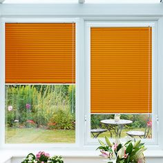 This orange tone is smooth and rich as opposed to bright and zesty. Definitely adding a funky twist, this Tango venetian blind will probably make your conservatory the talk of the street!