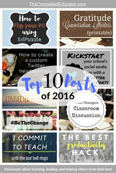 The Compelled Educator: Readers' Favorite Posts of 2016