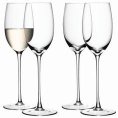 Verre à vin blanc, 34 CL. En coffret de 4. Design et réalisation LSA Angleterre