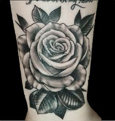 964c2ac5f6767 Cover up tattoo of rose and leaves over old hearts. Done by Brandon Posmoga  at