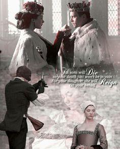 The tragic life of Anne Boleyn. I love her in The Tudors.