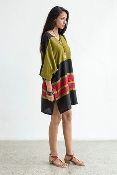 Handwoven Kaftan Dress