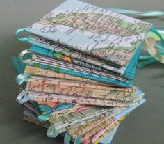 making books out paper maps