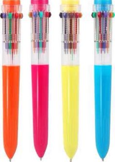 """awesome """"click a color"""" pens"""
