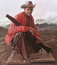 James Bama's amazing portrait work.