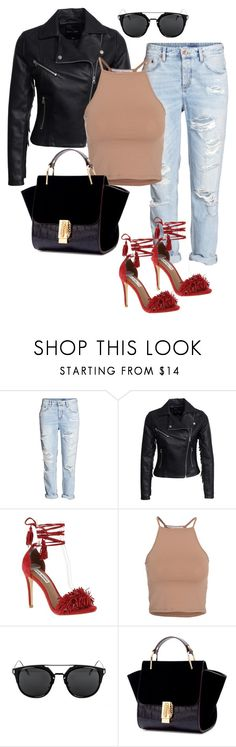 """""""Chloe"""" by laurelbeauty on Polyvore featuring H&M, New Look, Steve Madden and NLY Trend"""