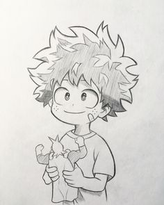 Anime and Manga drawing on New sketch of Midoriya! As in the survey the majority voted to upload the sketches of my drawings I will try to do more often and see a Easy Disney Drawings, Easy Doodles Drawings, Funny Drawings, Anime Drawings Sketches, Anime Sketch, Sketch Art, Funny Sketches, Drawing Disney, Sketch Ideas