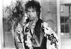 Bob Dylan en la película 'Corazones de fuego' de 1987.