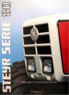 Tractorbrochures.com/Steyr 8000 - Series Steyr, Car, Automobile, Autos, Cars